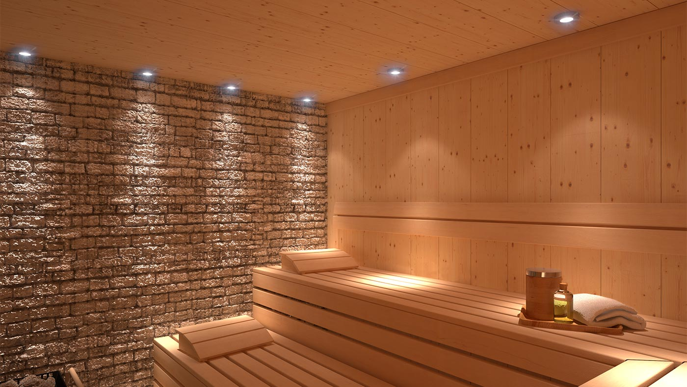 The Finnish sauna at Acquafun in San Candido